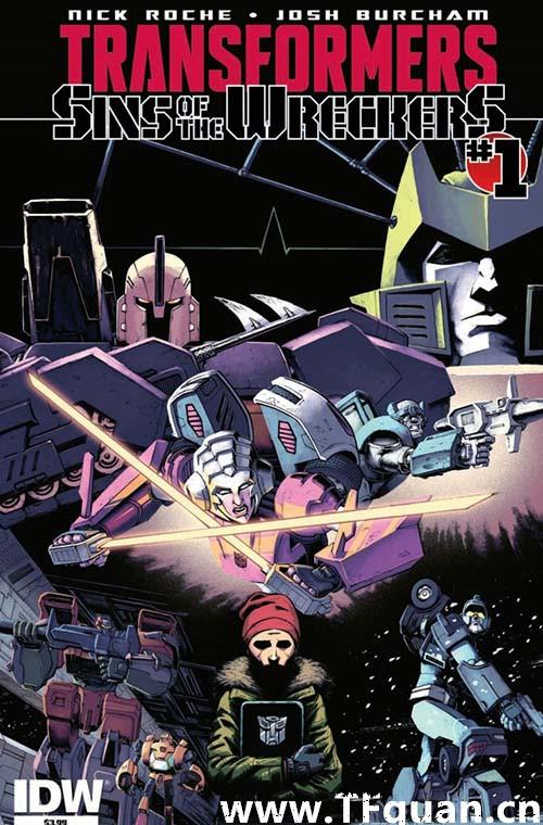 IDW变形金刚漫画《雷霆拯救队之罪》第一集 变形金刚 第1张