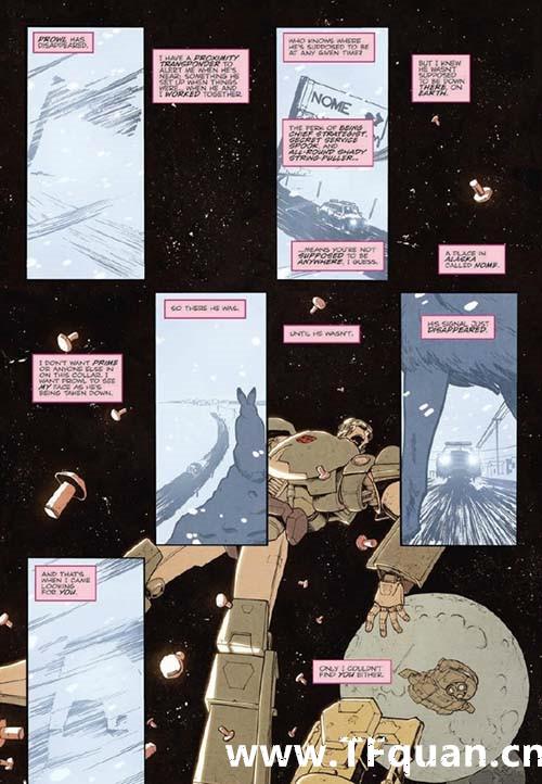 IDW变形金刚漫画《雷霆拯救队之罪》第一集 变形金刚 第3张