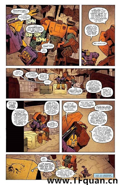 IDW变形金刚漫画《雷霆拯救队之罪》第一集 变形金刚 第7张