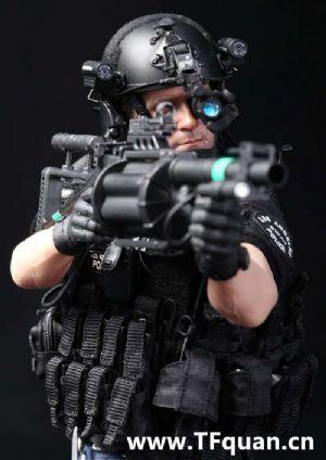 DID新品 洛杉矶特警 LAPD SWAT 2.0 丹佛 Denver(MA1006) 官图