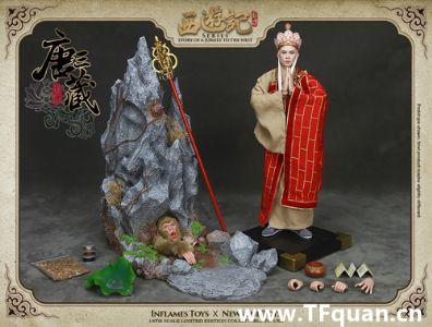 Inflames Toys X Newsoul toys 《西游记》系列 唐僧 单售版 & 唐僧+白龙马套装