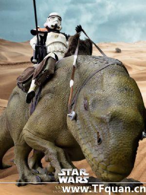 Hottoys 《星球大战4-新希望》 帝国沙兵 小队长 Sandtrooper