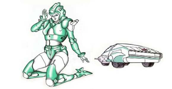 《变形金刚》动画片中的女性战士 贝塔 克劳莉娅 月娇 火翼星 艾丽塔 变形金刚人物百科  第4张
