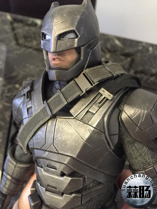 评测分享——HT《蝙蝠侠大战超人》-重甲版 蝙蝠侠 模玩 第15张