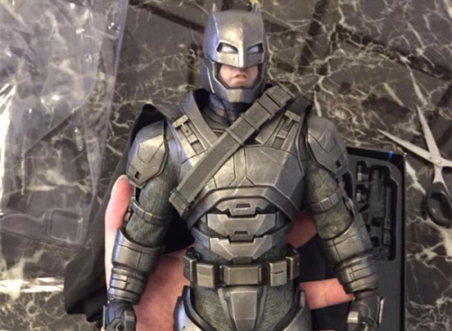 评测分享——HT《蝙蝠侠大战超人》-重甲版 蝙蝠侠