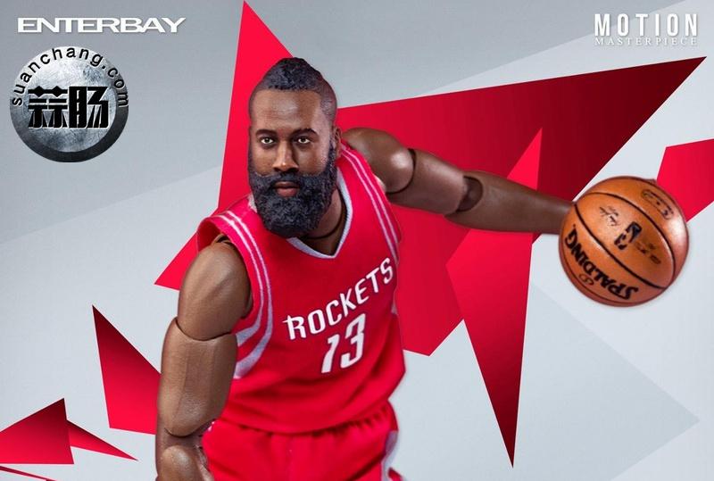 Enterbay 新品NBA球星系列- James Harden詹姆斯·哈登