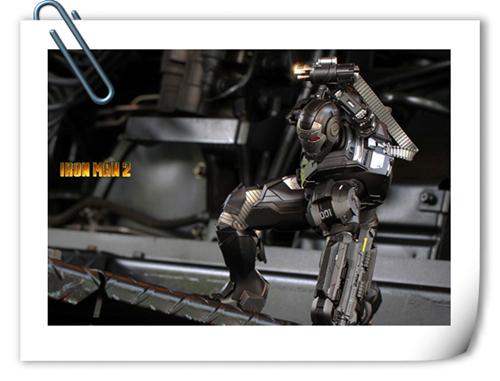 Hottoys压铸合金 钢铁侠2-战争机器已出货