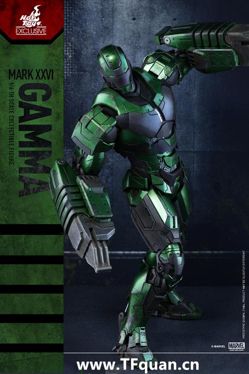 Hottoys新品 MMS332《钢铁侠3》  钢铁侠MK26 伽玛 Gamma 限定版 限定版 新品 钢铁侠3 hottoys 模玩  第3张