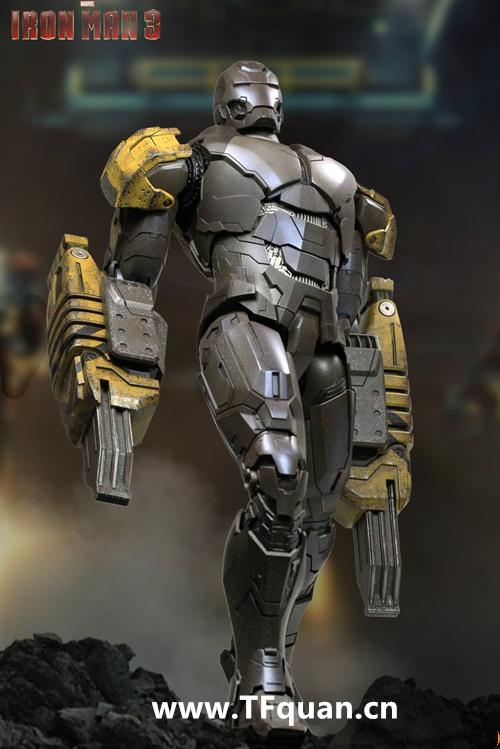 Hottoys 《钢铁侠3》  钢铁侠MK25   突袭者 Striker MK25 钢铁侠3 hottoys 变形金刚  第7张