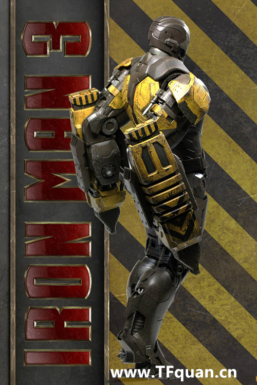 Hottoys 《钢铁侠3》  钢铁侠MK25   突袭者 Striker MK25 钢铁侠3 hottoys 变形金刚  第10张
