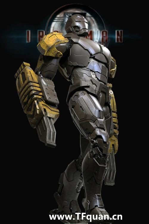 Hottoys 《钢铁侠3》  钢铁侠MK25   突袭者 Striker MK25 钢铁侠3 hottoys 变形金刚  第13张