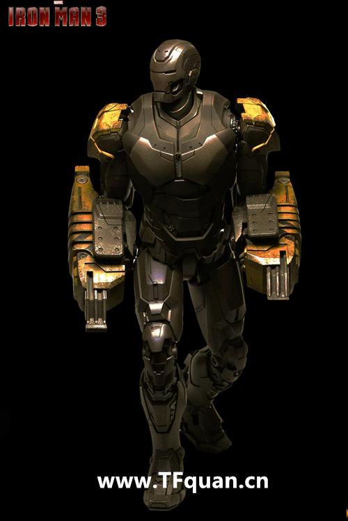 Hottoys 《钢铁侠3》  钢铁侠MK25   突袭者 Striker MK25 钢铁侠3 hottoys 变形金刚  第18张