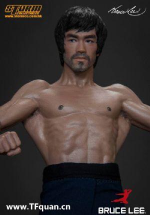 Storm Toys 李小龙 Bruce Lee 全身像- 双头雕配置