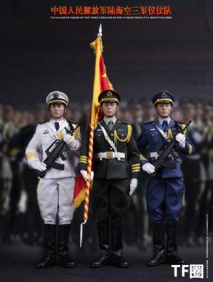 DAMTOYS 中国人民解放军 - 陆海空三军仪仗队