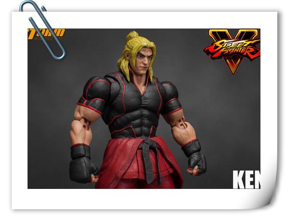 Storm Toys新品——《街头霸王V》街霸5 - 肯