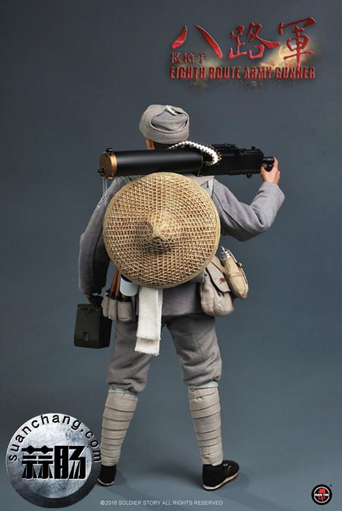 Soldier Story推出一款1:6 WWII - 八路军机枪手 模玩 第3张