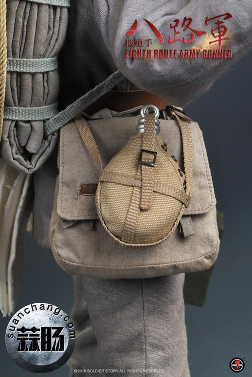 Soldier Story推出一款1:6 WWII - 八路军机枪手 模玩 第10张