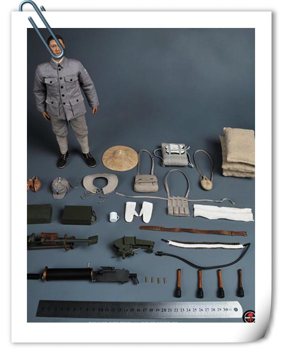 Soldier Story推出一款1:6 WWII - 八路军机枪手