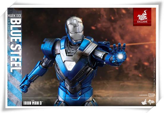 HotToys新品——MMS391《钢铁侠3》- MK30蓝钢别注版