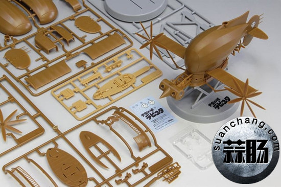Fine Molds将推出宫崎骏《天空之城》 虎蛾号飞行船 模玩 第3张