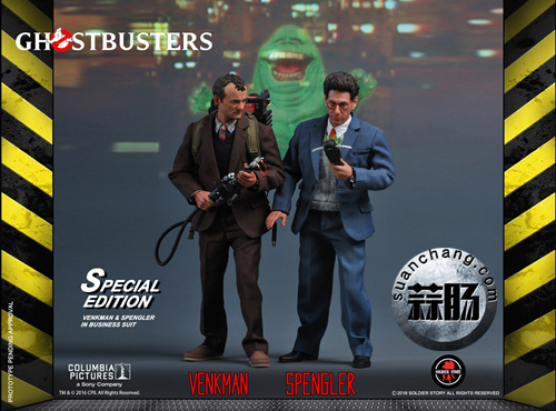 SoldierStory新品:1/6《捉鬼敢死队》1984版-SPENGLER & Venkman-普通&特别版 模玩 第16张