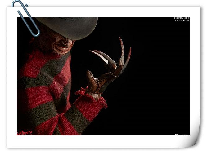 Sideshow 新品——《猛鬼街》- 弗雷迪·克鲁格 可动人偶