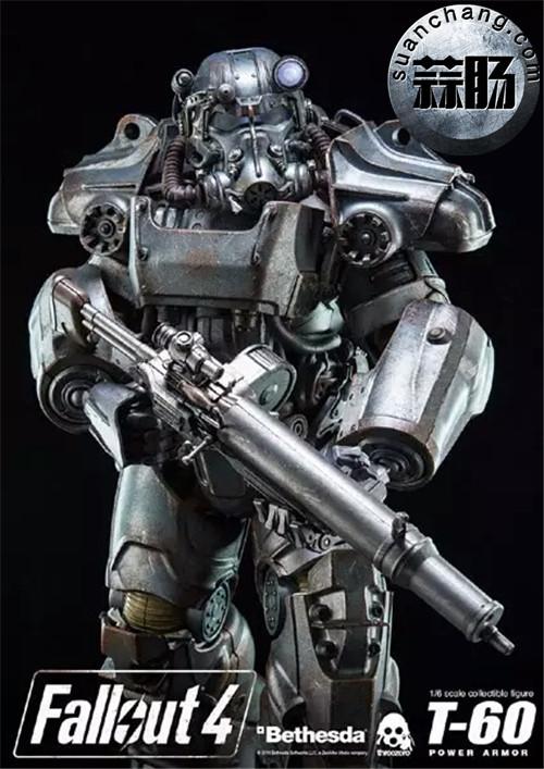 threeZero新品1/6 《辐射4》T-45 动力装甲服  模玩 第2张