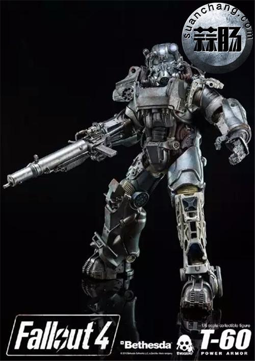 threeZero新品1/6 《辐射4》T-45 动力装甲服  模玩 第5张