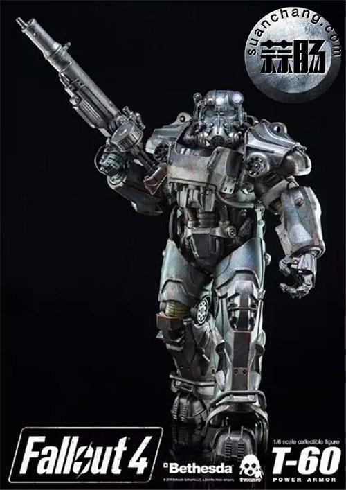 threeZero新品1/6 《辐射4》T-45 动力装甲服  模玩 第8张