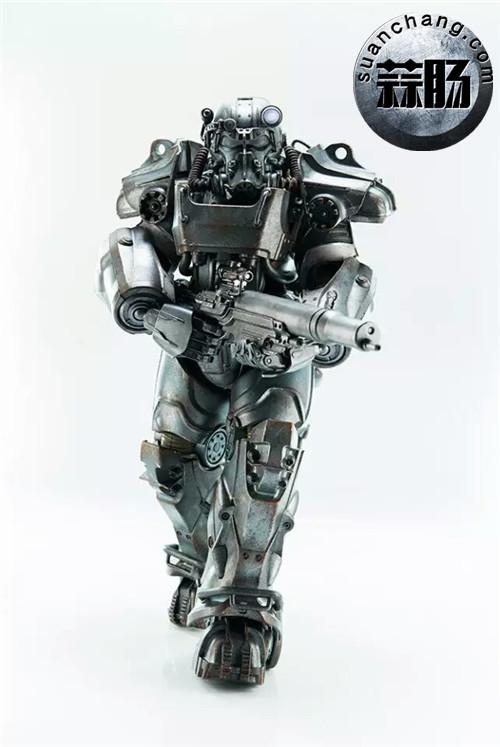 threeZero新品1/6 《辐射4》T-45 动力装甲服  模玩 第9张