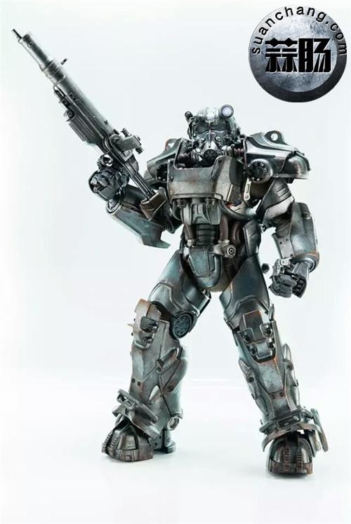 threeZero新品1/6 《辐射4》T-45 动力装甲服  模玩 第10张