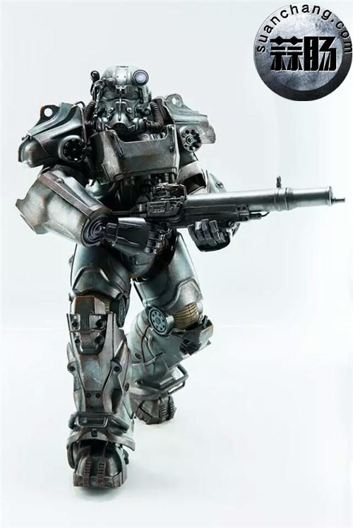 threeZero新品1/6 《辐射4》T-45 动力装甲服  模玩 第13张