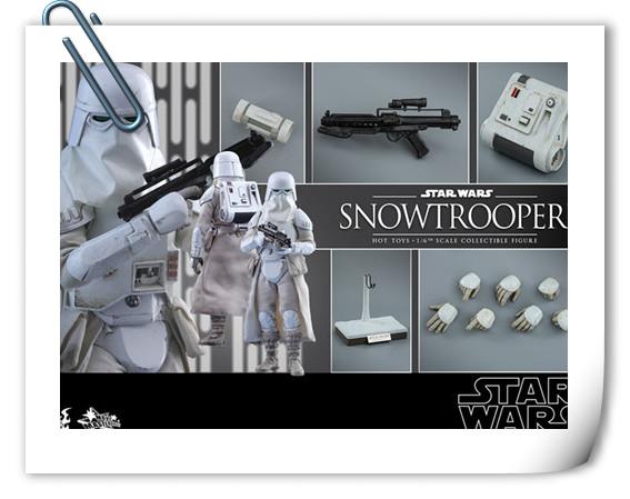 HT《星球大战V:帝国反击战》Snowtrooper 1:6比例珍藏人偶套装