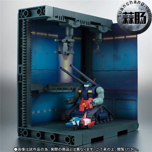 BANDAI魂商店 ROBOT魂 钢坦克&白色木马格纳库 模玩 第4张