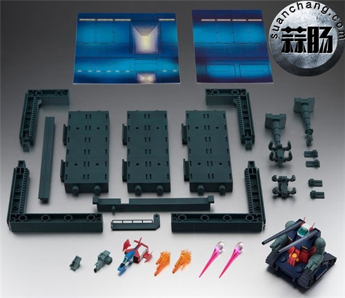 BANDAI魂商店 ROBOT魂 钢坦克&白色木马格纳库 模玩 第5张