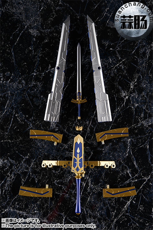 BANDAI AGP系列 Saber 变幻誓约胜利之剑 模玩 第12张