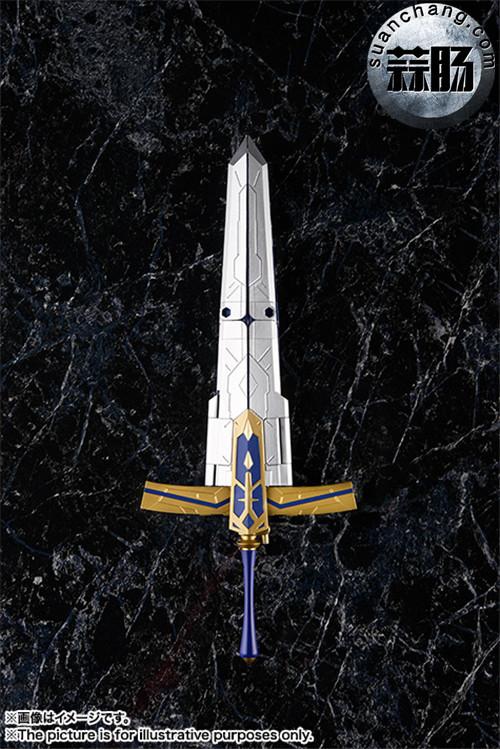BANDAI AGP系列 Saber 变幻誓约胜利之剑 模玩 第13张