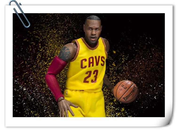 Enterbay 新品——NBA球星系列- 勒布朗.詹姆斯 & 安东尼来袭