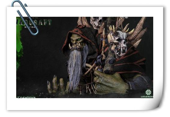[美系] DAMTOYS新品: 史诗系列 《魔兽》- 吴彦祖(古尔丹) 31寸精致雕像