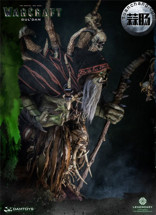 [美系] DAMTOYS新品: 史诗系列 《魔兽》  吴彦祖(古尔丹) 31寸精致雕像 精致雕像 古尔丹 魔兽 史诗系列 DAMTOYS 二次元  第4张