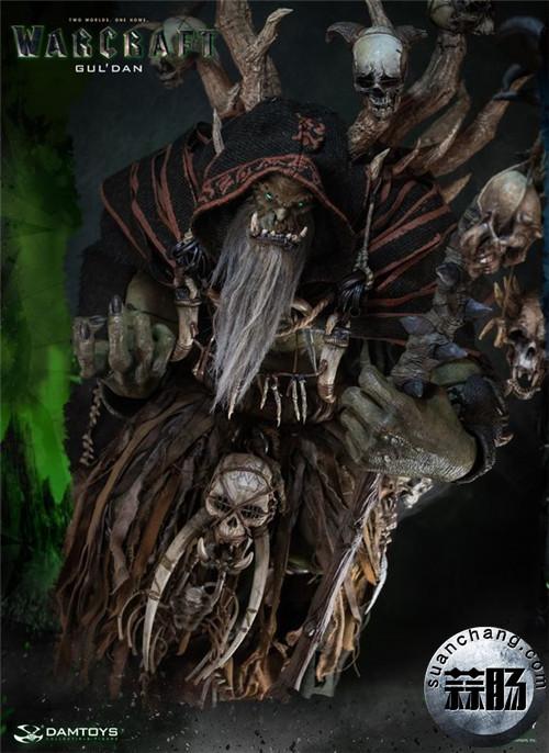 [美系] DAMTOYS新品: 史诗系列 《魔兽》  吴彦祖(古尔丹) 31寸精致雕像 精致雕像 古尔丹 魔兽 史诗系列 DAMTOYS 二次元  第5张