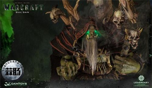 [美系] DAMTOYS新品: 史诗系列 《魔兽》  吴彦祖(古尔丹) 31寸精致雕像 精致雕像 古尔丹 魔兽 史诗系列 DAMTOYS 二次元  第6张