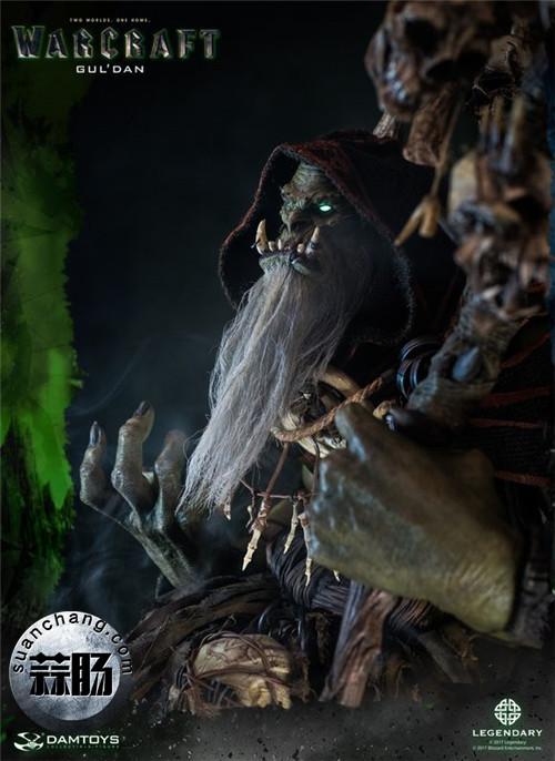[美系] DAMTOYS新品: 史诗系列 《魔兽》  吴彦祖(古尔丹) 31寸精致雕像 精致雕像 古尔丹 魔兽 史诗系列 DAMTOYS 二次元  第8张