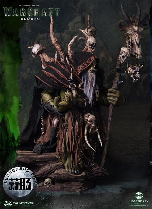 [美系] DAMTOYS新品: 史诗系列 《魔兽》  吴彦祖(古尔丹) 31寸精致雕像 精致雕像 古尔丹 魔兽 史诗系列 DAMTOYS 二次元  第10张