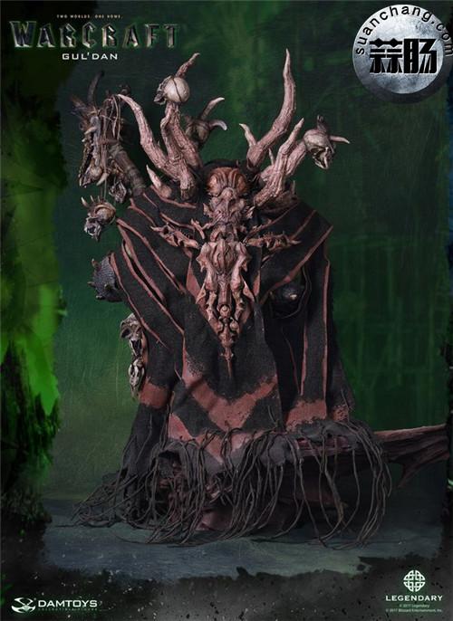 [美系] DAMTOYS新品: 史诗系列 《魔兽》  吴彦祖(古尔丹) 31寸精致雕像 精致雕像 古尔丹 魔兽 史诗系列 DAMTOYS 二次元  第14张
