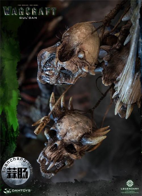 [美系] DAMTOYS新品: 史诗系列 《魔兽》  吴彦祖(古尔丹) 31寸精致雕像 精致雕像 古尔丹 魔兽 史诗系列 DAMTOYS 二次元  第15张