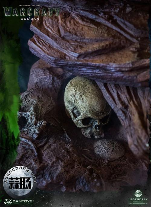 [美系] DAMTOYS新品: 史诗系列 《魔兽》  吴彦祖(古尔丹) 31寸精致雕像 精致雕像 古尔丹 魔兽 史诗系列 DAMTOYS 二次元  第17张