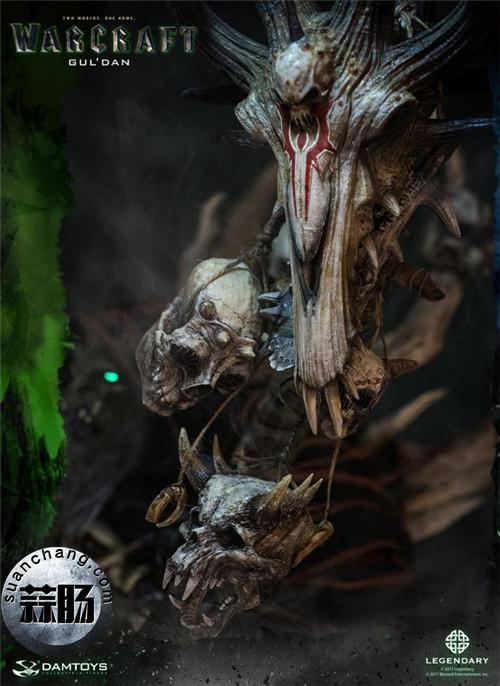 [美系] DAMTOYS新品: 史诗系列 《魔兽》  吴彦祖(古尔丹) 31寸精致雕像 精致雕像 古尔丹 魔兽 史诗系列 DAMTOYS 二次元  第18张