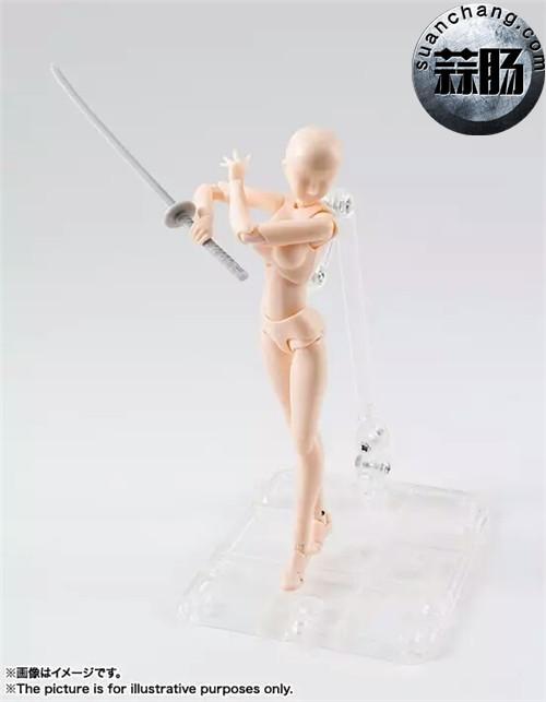 万代 S.H.Figuarts 女性素体DX SET(Pale orange Color Ver.) 模玩 第4张