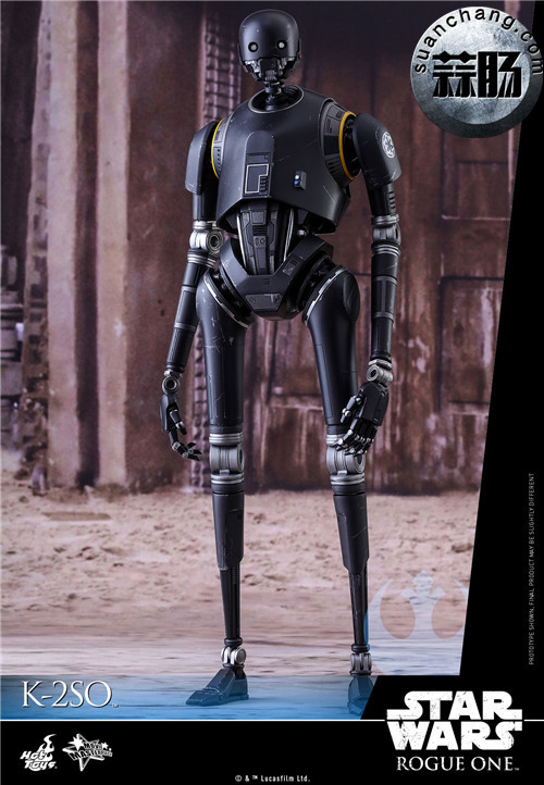 HotToys 《侠盗一号:星球大战外传》独创机械人K-2SO 1:6比例珍藏人偶 模玩 第1张